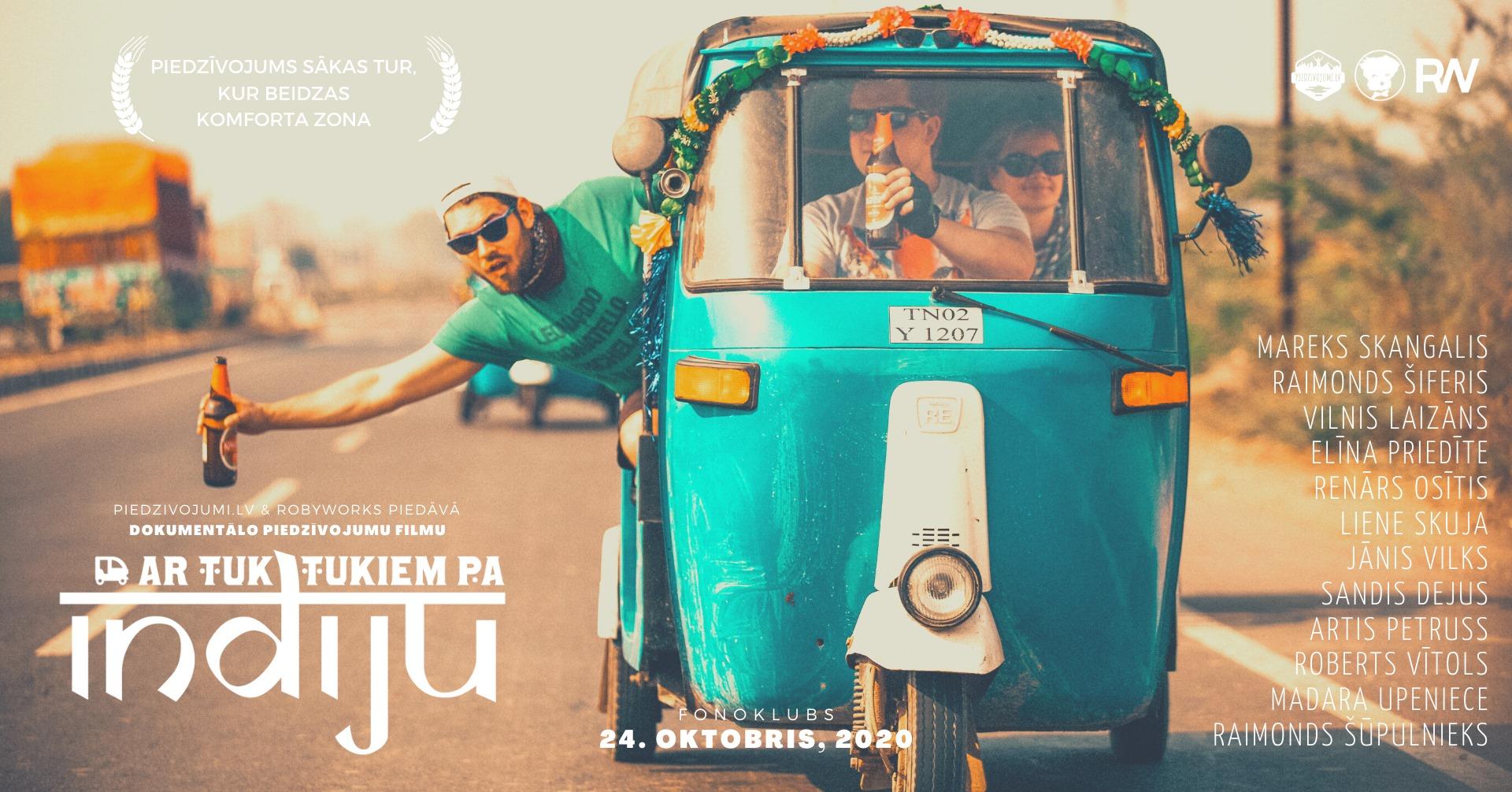 Filma: Ar tuk-tukiem pa Indiju